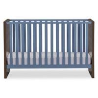 Sierra Ridge Terra Crib in Walnut/Blue