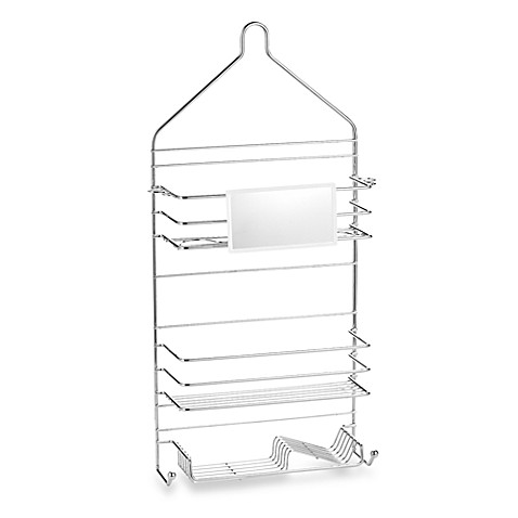 Simple Solutions Family Shower Caddy with Mirror - Bed Bath & Beyond