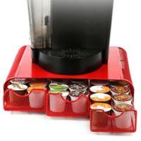 Mind Reader 36 K-Cup® Mesh Triple Coffee Drawer in Red