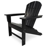 POLYWOOD® South Beach Adirondack Chair in Black