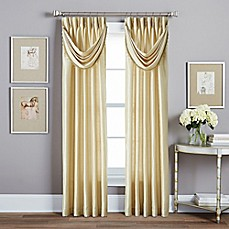 Spellbound Pinch Pleat Window Curtain Panel And Valance