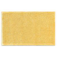 "Weather Guard™ Squares 18"" x 28"" Door Mat in Yellow"