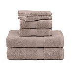 Under the Canopy 6-Piece Bath Towel Set in Stone