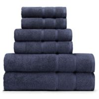 Nautica® 6-Piece Belle Haven Bath Towel Set in Navy