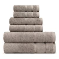 Nautica® 6-Piece Belle Haven Bath Towel Set in Grey