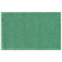 """Weather Guard™ Squares 24"""" x 36"""" Door Mat in Light Green"""