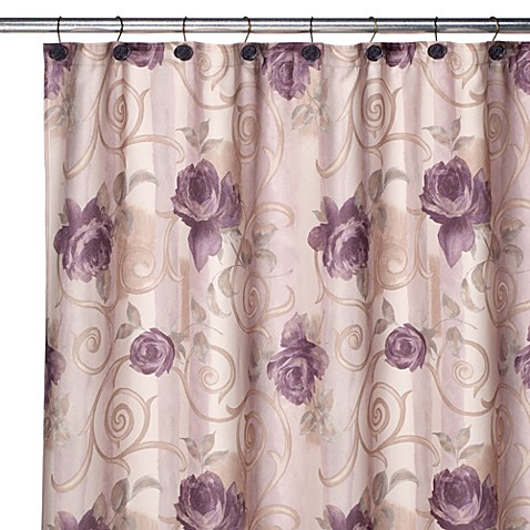 Croscill Chambord Shower Curtain And Hook Set Bed Bath Beyond
