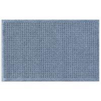 """Weather Guard™ Squares 24"""" x 36"""" Door Mat in Bluestone"""