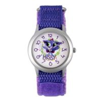 Disney® Children's 32mm Puppy Dog Pals Hissy Time Teacher Watch with Purple Strap
