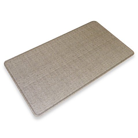 GelPro® Wicker 20-Inch x 36-Inch Chef's Mat in Oyster Grey