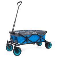 Creative Outdoor™ All Terrain Folding Wagon in Blue/Grey
