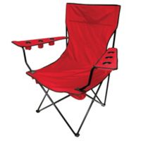 Creative Outdoor Kingpin Folding Chair in Red