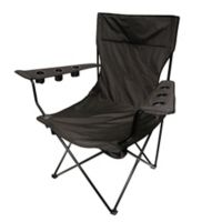 Creative Outdoor Kingpin Folding Chair in Black