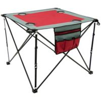 Creative Outdoor™ Portable Folding Wine Table in Red/Grey