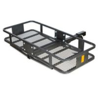 HitchMate Fold-Up Cargo Carrier in Black