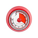 Kikkerland® Magnetic Kitchen Timer in Red