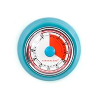 Kikkerland® Magnetic Kitchen Timer in Blue