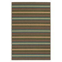Tommy Bahama® Seaside Indoor/Outdoor Multicolor 6'7 x 9'6 Area Rug