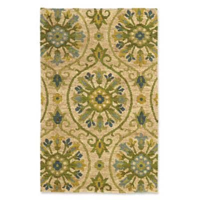 Tommy Bahama Valencia 10 X 13 Area Rug In Beige Green