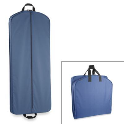 Wallybags 52 Inch Dress Length Garment Bag In Navy