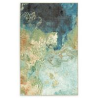 Mohawk Home® Aurora Marble 8' x 10' Area Rug in Ink Blue