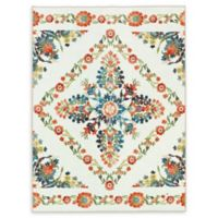 Mohawk Home® Aurora Bishop Tile Multicolor Floral 5' x 8' Area Rug