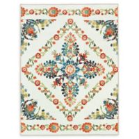 Mohawk Home® Aurora Bishop Tile Multicolor Floral 8' x 10' Area Rug