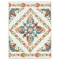 Mohawk Home® Aurora Bishop Tile Multicolor Floral 8' x 10' Area Rug