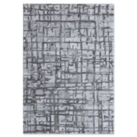 Dynamic Rugs Posh Soho 4' x 6' Area Rug in Grey
