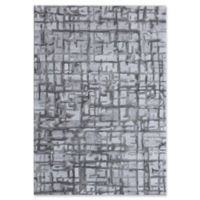 Dynamic Rugs Posh Soho 6'7 x 9'6 Area Rug in Grey