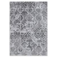 Dynamic Rugs Posh Batik 2' x 4' Accent Rug in Grey