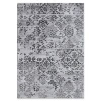 Dynamic Rugs Posh Batik 4' x 6' Area Rug in Grey