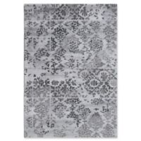 Dynamic Rugs Posh Batik 5' x 8' Area Rug in Grey