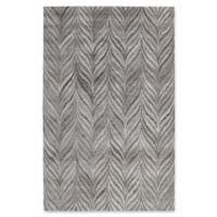 Dynamic Rugs Posh Kenya 6'7 x 9'6 Area Rug in Grey