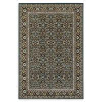 Oriental Weavers Kashan 5'3 x 7'6 Area Rug in Navy