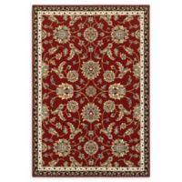 Oriental Weavers Kashan 3'10 x 5'5 Area Rug in Red