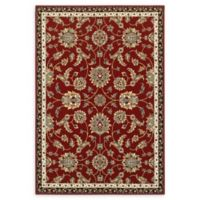 Oriental Weavers Kashan 7'10 x 10'10 Area Rug in Red