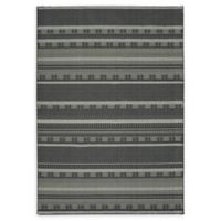 Oriental Weavers Luna Contrast 9'10 x 12'10 Area Rug in Black