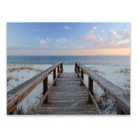 Artissimo Designs™ Pensacola Sunset 40-Inch x 30-Inch Canvas Wall Art