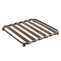 Spectrum Stripe Metal Trivet in Oil Rubbed Bronze