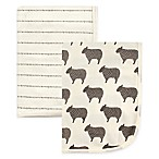 Hudson Baby® 2-Pack Sheep Swaddle Blankets