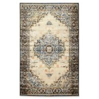 Kaleen Tiziano Medallion 7'10 x 10'6 Area Rug in Blue