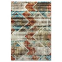 Dynamic Rugs Prism Stockholm 7'10 x 10'10 Area Rug in Ivory/Multi