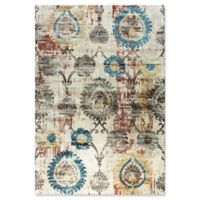 Dynamic Rugs Prism Gothenburg 7'10 x 10'10 Area Rug in Ivory/Multi