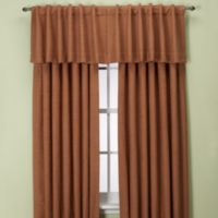 Union Square 144-Inch Rod Pocket/Back Tab Window Curtain Panel in Cinnamon