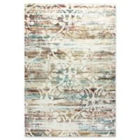 Dynamic Rugs Prism Visby 7'10 x 10'10 Area Rug in Ivory/Multi