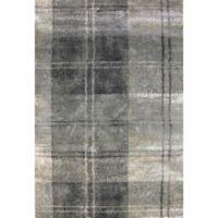 Dynamic Rugs Bali Tubam Woven 7'10 x 10'10 Area Rug in Light Grey
