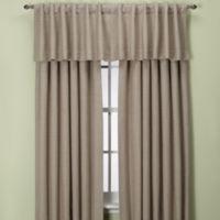 Union Square 84-Inch Rod Pocket/Back Tab Window Curtain Panel in Khaki