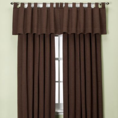 Curtains Ideas chocolate brown tab top curtains : Buy Chocolate Brown Curtain Panels from Bed Bath & Beyond