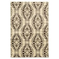 Linon Home Décor Elegance 5' x 7'3 Neice Area Rug in White